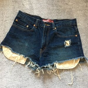 Levi's Vintage Distressed Cutoff Shorts
